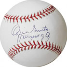 Ozzie Smith autographed MLB baseball with Authenticity