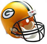 Green Bay Packers Authentic Full Size Helmet
