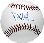 Phil Hughes autograph baseball with certificate of authenticity