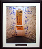 Notre Dame Greats Multi Signed Tunnel 16x20 Photograph