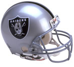 Oakland Raiders Authentic Full Size Helmet