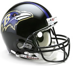 Baltimore Ravens Authentic Full Size Helmet