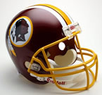 Washington Redskins Authentic Full Size Helmet