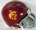 Reggie Bush signed USC Trojans Mini Helmet
