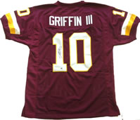 Robert Griffin III Signed Washington Redskins Custom Jersey