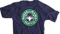 RussellMania Seattle Football Shirt
