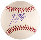 Ryan Braun autograph baseball with certificate of authenticity