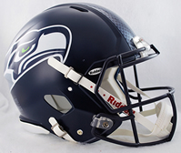 Seattle Seahawks Matte Authentic Full Size Helmet