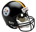 Pittsburgh Steelers Authentic Full Size Helmet
