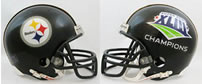 Pittsburgh Steelers Super Bowl 43 Full Size Replica Helmet