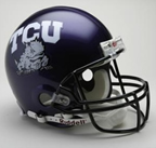 TCU Authentic Full Size Helmet