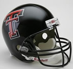 Texas Tech Red Raiders Authentic Full Size Helmet