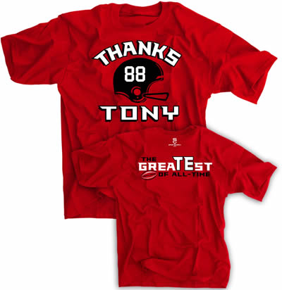 Thanks Tony shirt