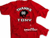 Thanks Tony Atlanta Football Shirt