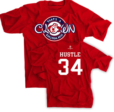 That's A Clown Question Bro! Hustle 34 Shirt