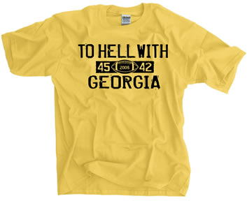 To Hell With Georgia 45-42 Shirt