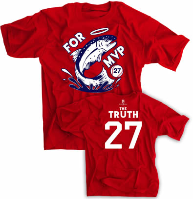 Trout For MVP Truth 27 Shirt