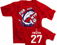 Trout For MVP Baseball T-shirt