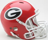 Georgia Bulldogs Mini Helmet