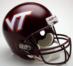 Virginia Tech Hokies Mini Helmet