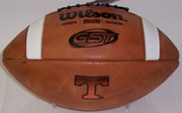Tennessee Volunteers Wilson GST 1003 Authentic Game Day Football