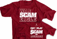 War Scam Eagle shirt