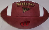 Wisconsin Badgers Wilson Authentic Game Day Football