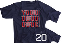 YOUK! Boston Baseball T-shirt
