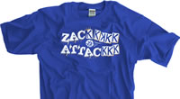 Zack Attack Kansas City Baseball T-shirt
